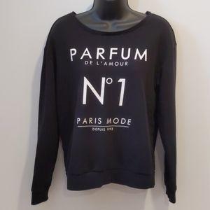 2/$25 H&M black sweatshirt Medium